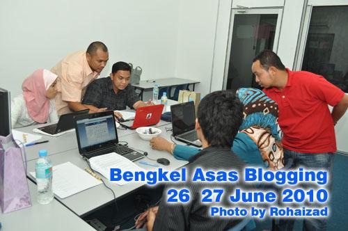 bengkel blogging