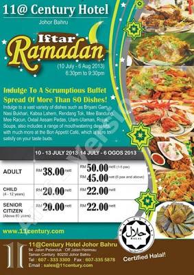 Iftar Ramadan - 11@Century Hotel Johor Bahru