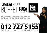 umbai cafe kampung 2013